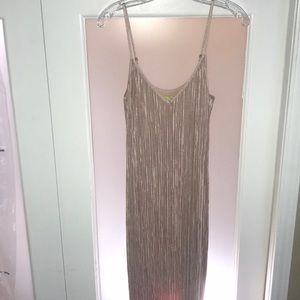 Dresses & Skirts - Blush Midi Evening Dress 💋